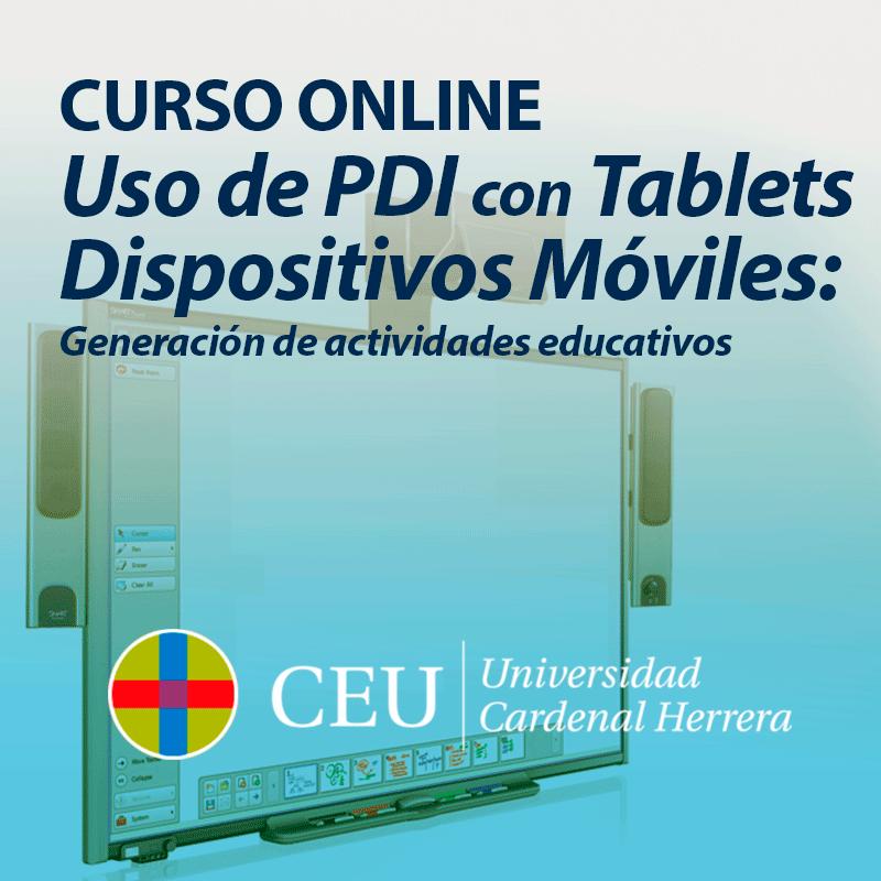 Curso online de Generación de Actividades y Uso de PDI con Tablets y ...